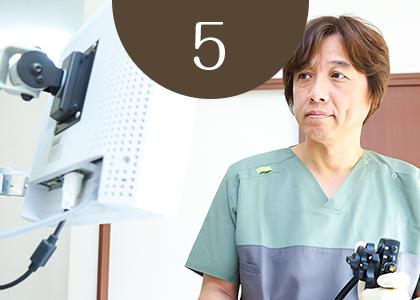 苦痛の少ない経鼻内視鏡検査(胃カメラ検査)